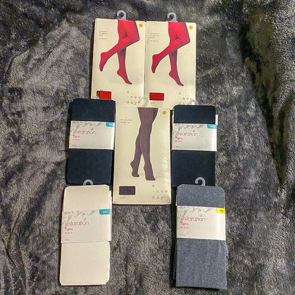 Lot of 7 pairs of tights! JUST $4 EACH!!